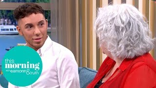 Man Crowdfunding for Liposuction Gets Into Heated Argument | This Morning