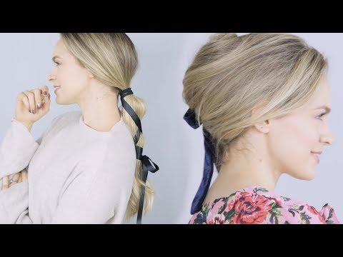 Ribbon Hairstyles for Winter into Spring! – KayleyMelissa