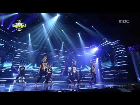 Show Champion, D-UNIT - I'm missing you #05, 디유닛 - I'm missing you 20120814