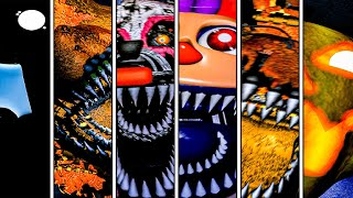 Five Nights At Freddy's 4 Halloween Edition All Jumpscares | FANF 4 Halloween Edition