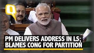 PM Modi Attacks Cong, Blames Nehru for Losing a Part of Kashmir | The Quint