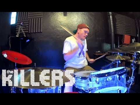 The Killers - The Man - Drum Cover By Rex Larkman