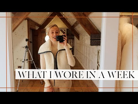 WHAT I WORE IN A WEEK // Outfit Diary // Fashion Mumblr AD