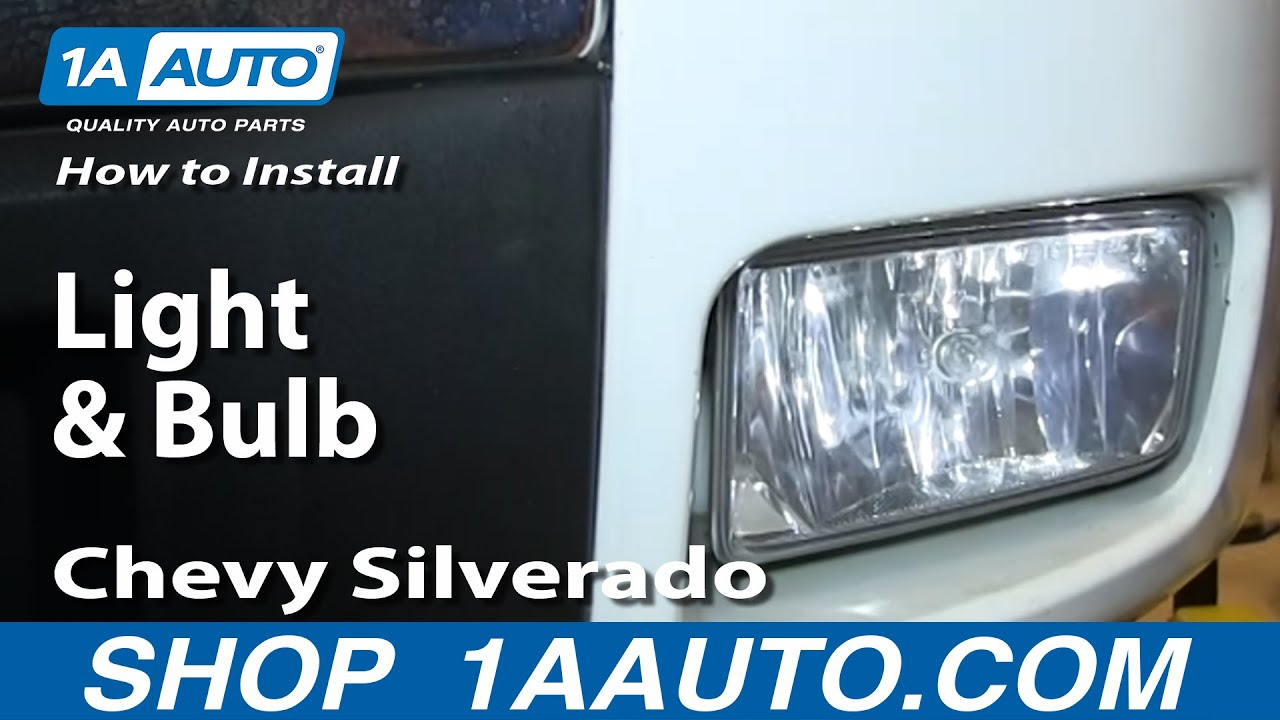 How To Install Replace Change Fog Light And Bulb 2007 13