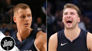 That Luka Doncic-Kristaps Porzingis debut was 3 years in the making - Brian Windhorst   The Jump