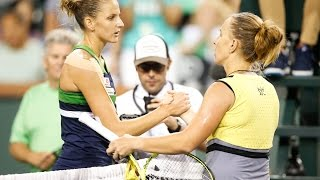 "Svetlana Kuznetsova ""Didn't Expect"" To Reach 3rd BNP Paribas Open Final"