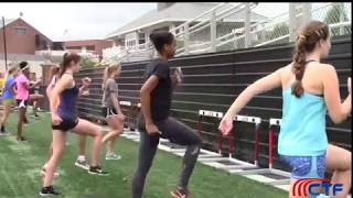 Best of the 2017 CTF Hurdle Clinic (Cut Step Drill)