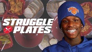 Quando Rondo Makes His Own Casserole With Sardines, Ramen Noodles, Pickles | Struggle Plates