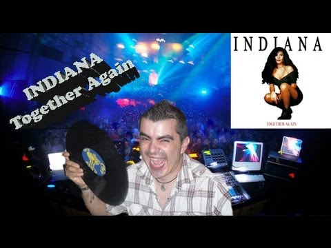 INDIANA  - Together again ( Eurodance Remix )