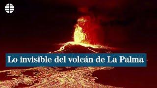 Cámaras térmicas y otras tecnologías para ver lo invisible del volcán de La Palma