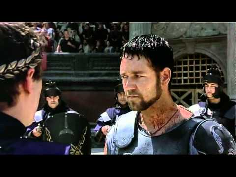 Gladiator escena