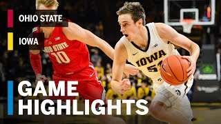 Highlights: Ohio State at Iowa | Big Ten Basketball