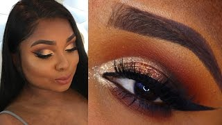 Smokey Cut crease makeup tutorial -  Queenii Rozenblad