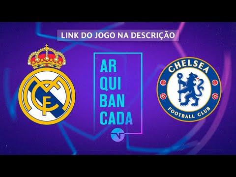 REAL MADRID X CHELSEA (NARRAÇÃO AO VIVO) - CHAMPIONS LEAGUE
