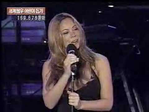 Mariah Carey in Korea