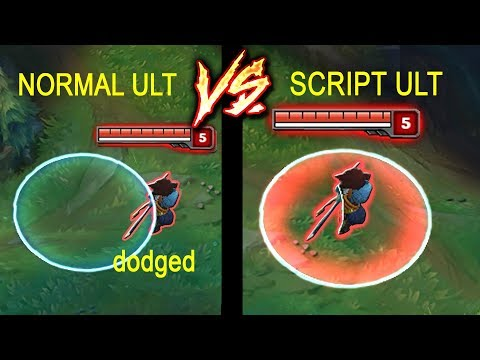 ITS IMPOSSIBLE TO DODGE SCRIPT ULTS (AirStrikes in LOL)