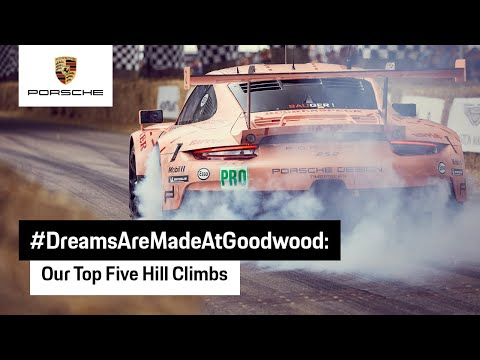 Unique Porsche Hillclimbs at Goodwood Festival of Speed
