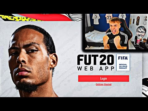 opening my FIRST PACKS on the FIFA 20 Web App…