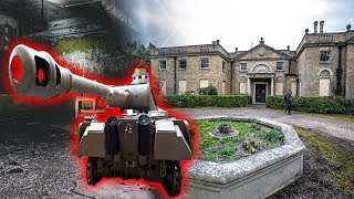 FOUND a TANK In Abandoned Mansion UNDERGROUND Basement