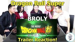 Dragon Ball Super: Broly Movie Trailer - Comic Con 2018 | Reaction - Australian Asians