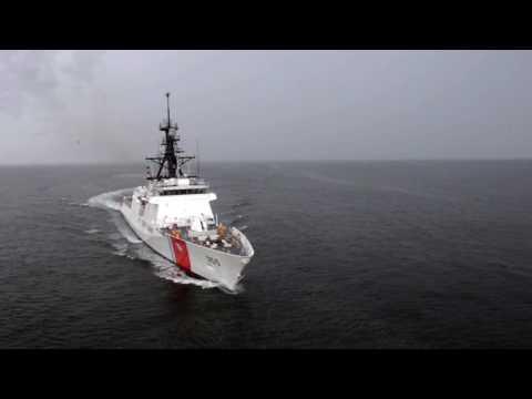 Munro (NSC 6) Builder's Sea Trials