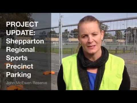 LOCAL TRAFFIC REMINDER: Greater Shepparton Regional Sports Precinct East/West Linking Boulevard