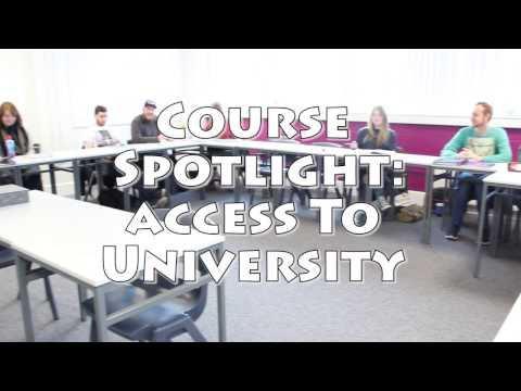 Course Spotlight - Access to University