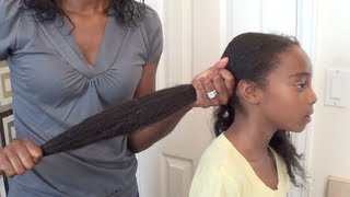 How to moisturize little girls natural hair   Butterfly