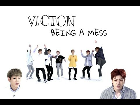 victon being a mess