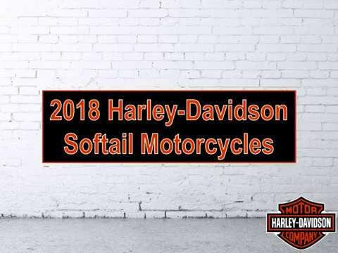 2018 Harley-Davidson Softail Motorcycles