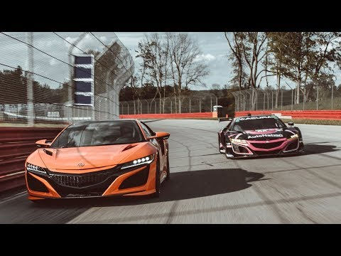 Currently #1 in the IMSA GT Daytona (GTD) point standings, driver Trent Hindman of Meyer Shank Racing demonstrates the distinctive approaches to performance of the NSX and NSX GT3 Evo.