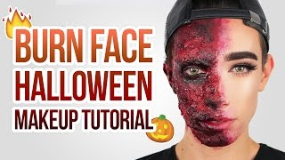 EASY BURN SPECIAL FX HALLOWEEN MAKEUP TUTORIAL | JCharlesBeauty
