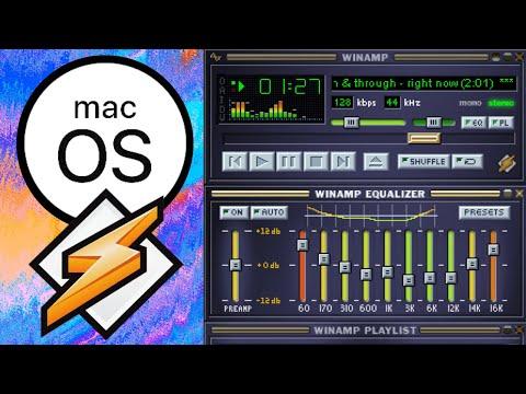 Winamp CLASSIC on macOS Catalina