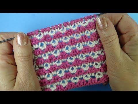 Уникальный Гибридный узор Unique hybrid crochet pattern Вязание крючком  7