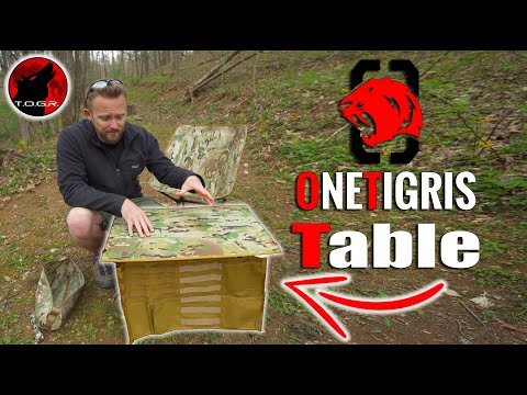 MOLLE Panels? OneTigris Folding Table - Review