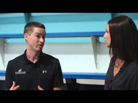 Dr. Trevor Vander Doelen chats with Athlete's Care
