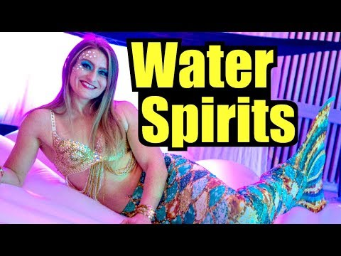 Water Spirits, What Are They? (Merman and Mermaid)