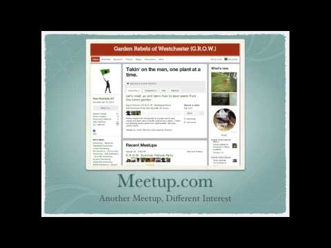 How to use meetup.com for networking and growing an audience