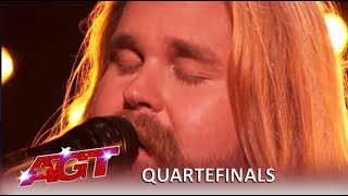 "Chris Kläfford: Swedish Singer Debuts Original Song ""Singing Hallelujah| America's Got Talent 2019"