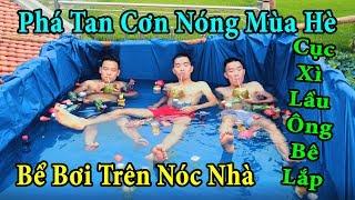 PHD | Xây Dựng Bể Bơi Trên Mái Nhà | Build A Swimming Pool On The Roof