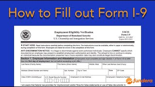 How to Fill out Form I-9: Easy Step-by-Step Instructions