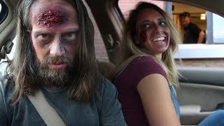 Drive-Thru Zombie Prank! Halloween Costume Ideas