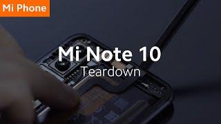 Mi Note 10: Teardown