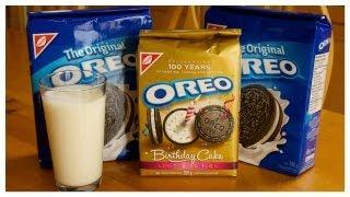 100 Oreo Cookie Challenge FAIL! 100 Oreos = 6000 CALORIES YIKES!