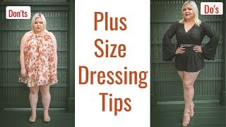Style guide for plus size - Dressing tips Do's and Don'ts /UPDATED 2019