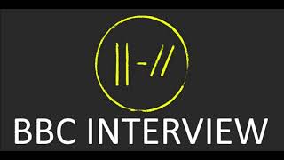 Josh Dun interview with BBC Radio 1 - 12 July 2018