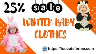 Winter baby clothes👶25% Sale👶Best Baby Shopping haul 2018