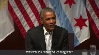 Obama-Auftritt in Chicago: