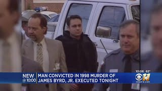 Man Who Killed James Byrd In 1998 Executed Wednesday