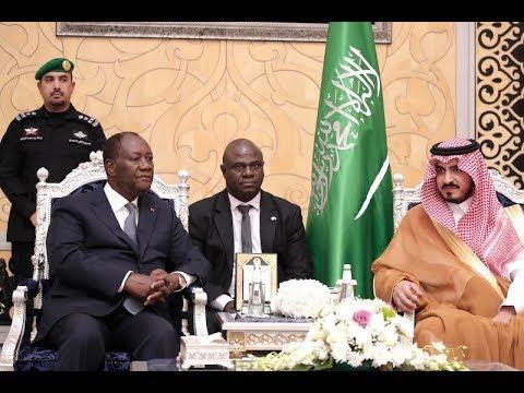 Le Président Alassane OUATTARA est arrivé à Djeddah pour une visite officielle